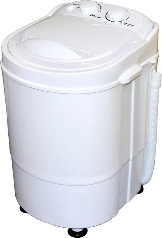 ROOMMATE 洗いブラシ付きポータブル洗濯機 ブラシ de アライ RM-85MK