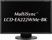 MultiSync LCD-EA222WMe-BK