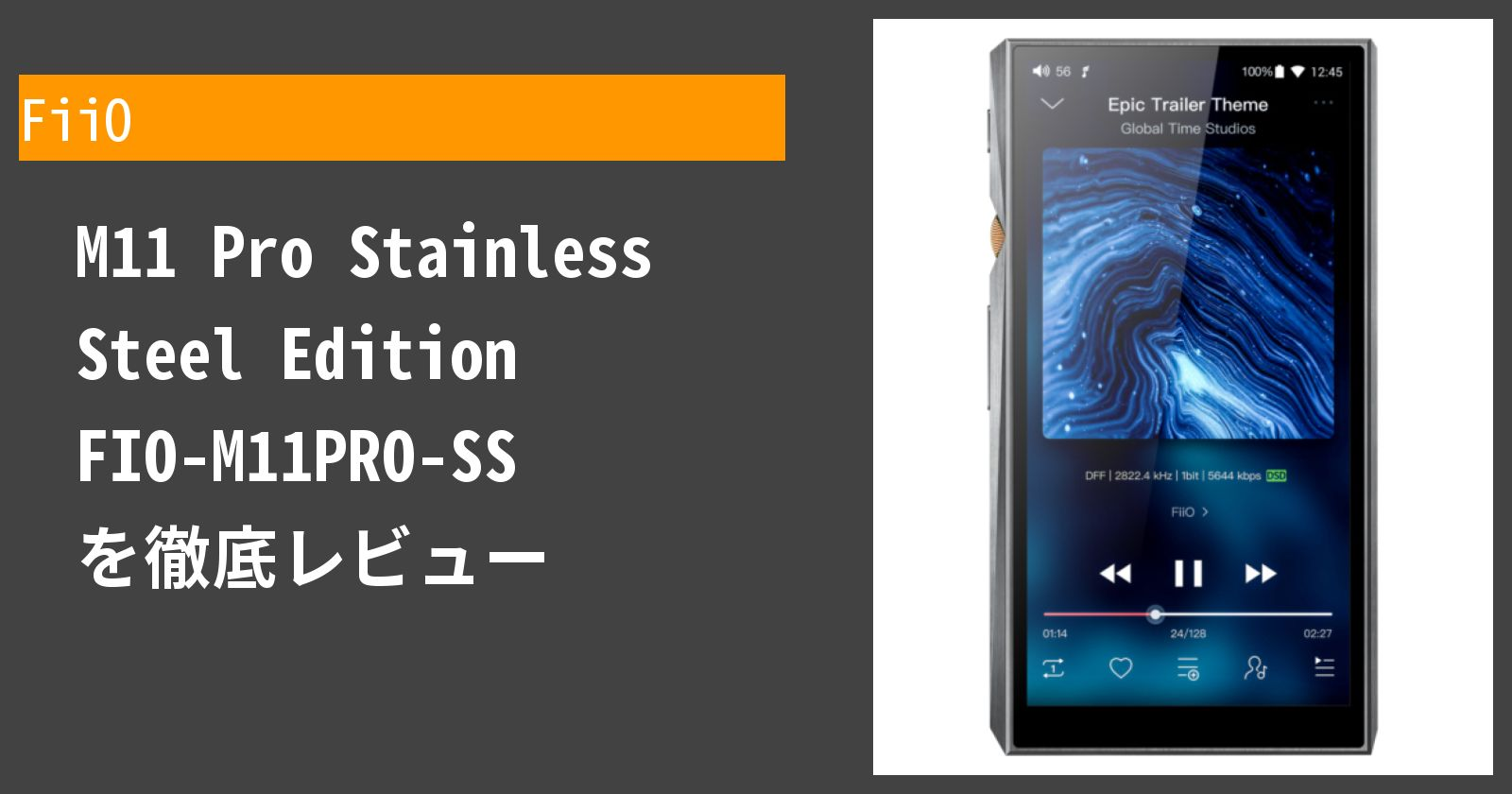 M11 Pro Stainless Steel Edition FIO-M11PRO-SSを徹底評価