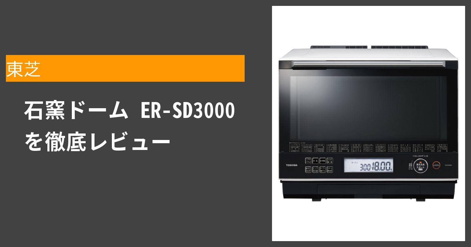 石窯ドーム ER-SD3000を徹底評価