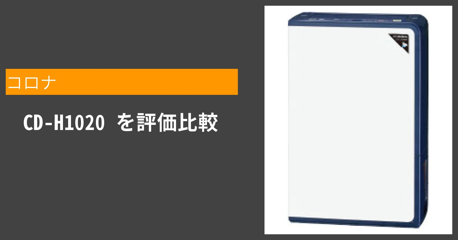 CD-H1020を徹底評価